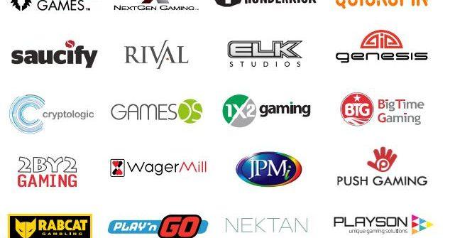 BESTE spillet programvareprodusenter
