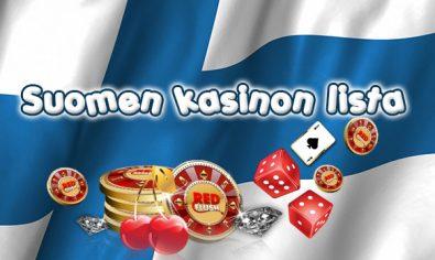 Suomen kasinon lista